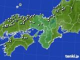 2015年12月31日の近畿地方のアメダス(降水量)