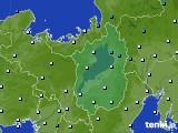 2016年01月15日の滋賀県のアメダス(気温)