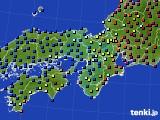 2016年01月26日の近畿地方のアメダス(日照時間)