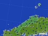 島根県のアメダス実況(日照時間)(2016年02月01日)