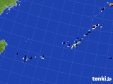 2016年02月03日の沖縄地方のアメダス(日照時間)