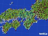 2016年02月03日の近畿地方のアメダス(日照時間)