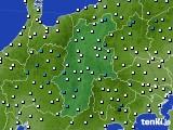 2016年02月12日の長野県のアメダス(気温)