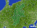 2016年02月14日の長野県のアメダス(気温)