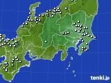 2016年02月15日の関東・甲信地方のアメダス(降水量)