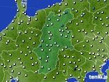 2016年02月19日の長野県のアメダス(気温)