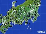 2016年02月20日の関東・甲信地方のアメダス(降水量)