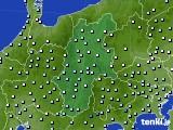 2016年02月20日の長野県のアメダス(降水量)