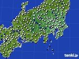 関東・甲信地方のアメダス実況(風向・風速)(2016年02月26日)