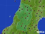 2016年02月28日の山形県のアメダス(日照時間)