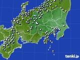 2016年02月29日の関東・甲信地方のアメダス(降水量)
