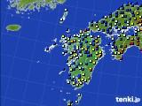 九州地方のアメダス実況(日照時間)(2016年02月29日)