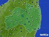 2016年02月29日の福島県のアメダス(風向・風速)