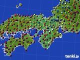 2016年03月02日の近畿地方のアメダス(日照時間)