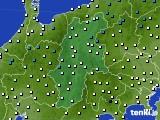 2016年03月03日の長野県のアメダス(気温)