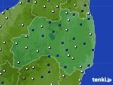 2016年03月03日の福島県のアメダス(風向・風速)