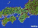 2016年03月04日の近畿地方のアメダス(日照時間)