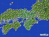 2016年03月04日の近畿地方のアメダス(風向・風速)