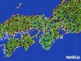 2016年03月05日の近畿地方のアメダス(日照時間)