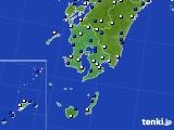 2016年03月05日の鹿児島県のアメダス(風向・風速)