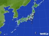 2016年03月07日のアメダス(降水量)