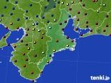 2016年03月08日の三重県のアメダス(日照時間)