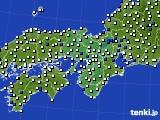 2016年03月11日の近畿地方のアメダス(風向・風速)
