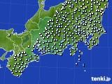 東海地方のアメダス実況(降水量)(2016年03月14日)
