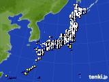 アメダス実況(風向・風速)(2016年03月14日)