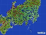 関東・甲信地方のアメダス実況(日照時間)(2016年03月16日)