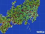 関東・甲信地方のアメダス実況(日照時間)(2016年03月20日)