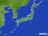 アメダス実況(降水量)(2016年03月24日)