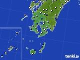 2016年03月28日の鹿児島県のアメダス(風向・風速)