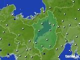 滋賀県のアメダス実況(風向・風速)(2016年03月30日)