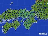 2016年04月01日の近畿地方のアメダス(日照時間)