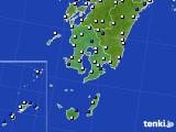 2016年04月01日の鹿児島県のアメダス(風向・風速)