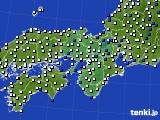 2016年04月02日の近畿地方のアメダス(風向・風速)