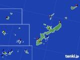 2016年04月03日の沖縄県のアメダス(日照時間)
