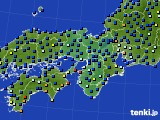 2016年04月04日の近畿地方のアメダス(日照時間)
