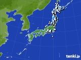 アメダス実況(降水量)(2016年04月17日)