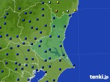 茨城県のアメダス実況(日照時間)(2016年04月18日)