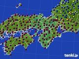 2016年04月30日の近畿地方のアメダス(日照時間)