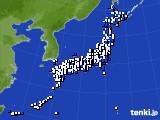 2016年04月30日のアメダス(風向・風速)