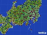 関東・甲信地方のアメダス実況(日照時間)(2016年05月07日)