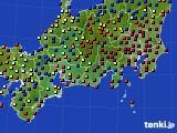 東海地方のアメダス実況(日照時間)(2016年05月07日)