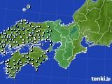 2016年05月29日の近畿地方のアメダス(降水量)