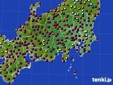 関東・甲信地方のアメダス実況(日照時間)(2016年06月02日)
