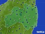 福島県のアメダス実況(風向・風速)(2016年06月02日)