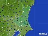 茨城県のアメダス実況(風向・風速)(2016年06月02日)