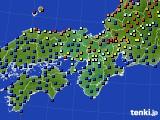 2016年06月05日の近畿地方のアメダス(日照時間)
